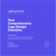logo design checklist - eighty3 creative