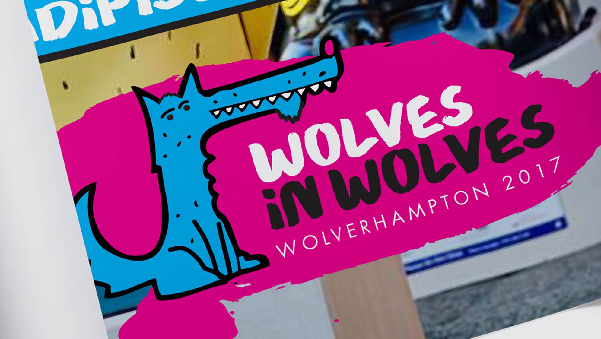 wolves in wolves logo design - eighty3creative