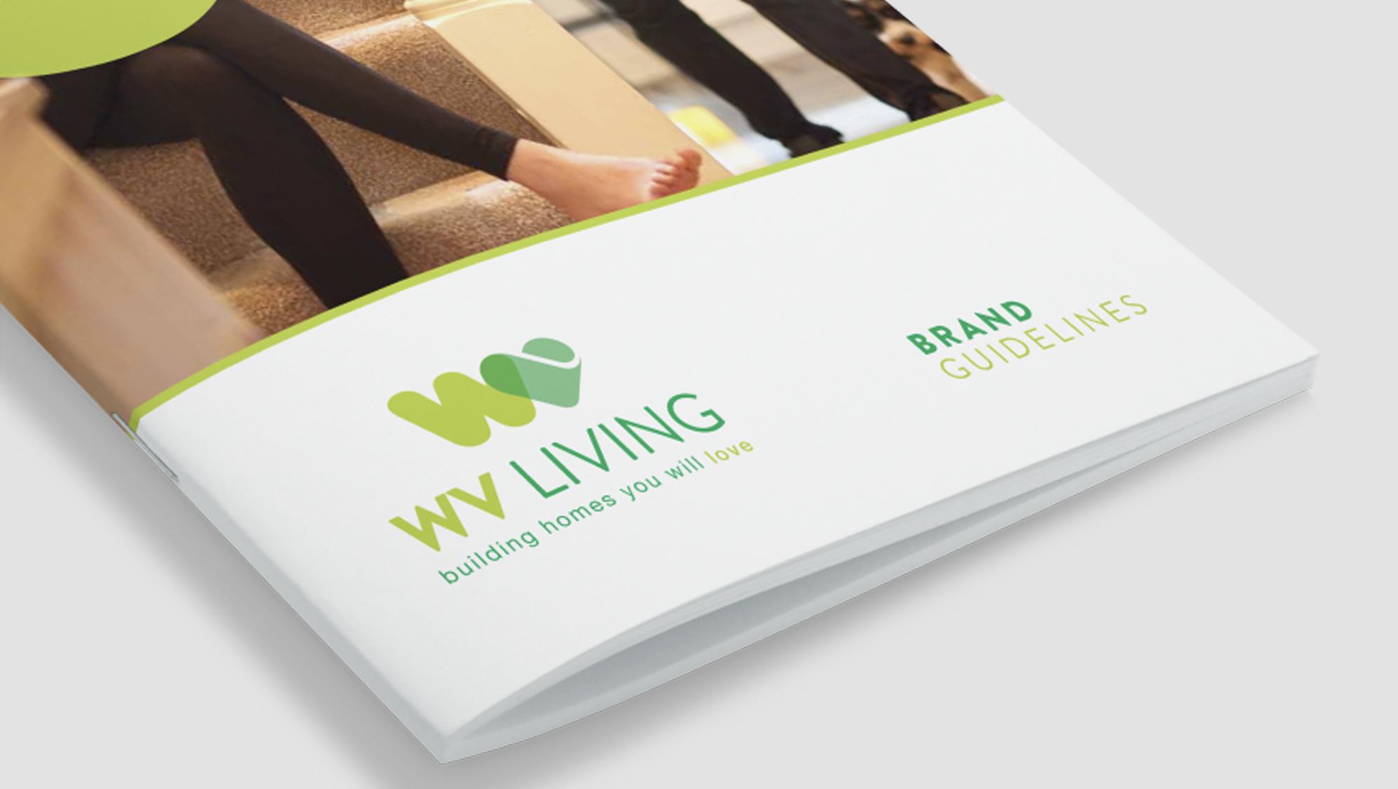 WV Living Branding - eighty3creative