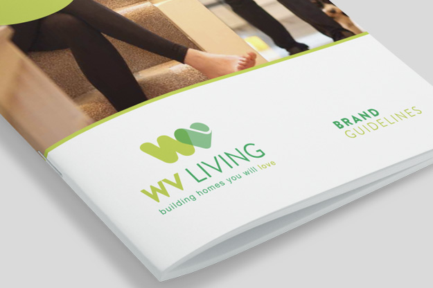 WV Living Branding- eighty3creative