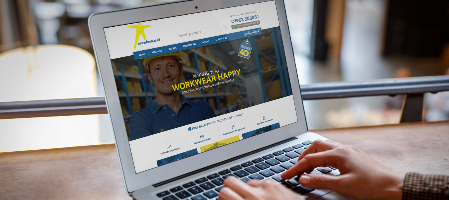 ecommerce design - Wolverhampton - eighty3 creative
