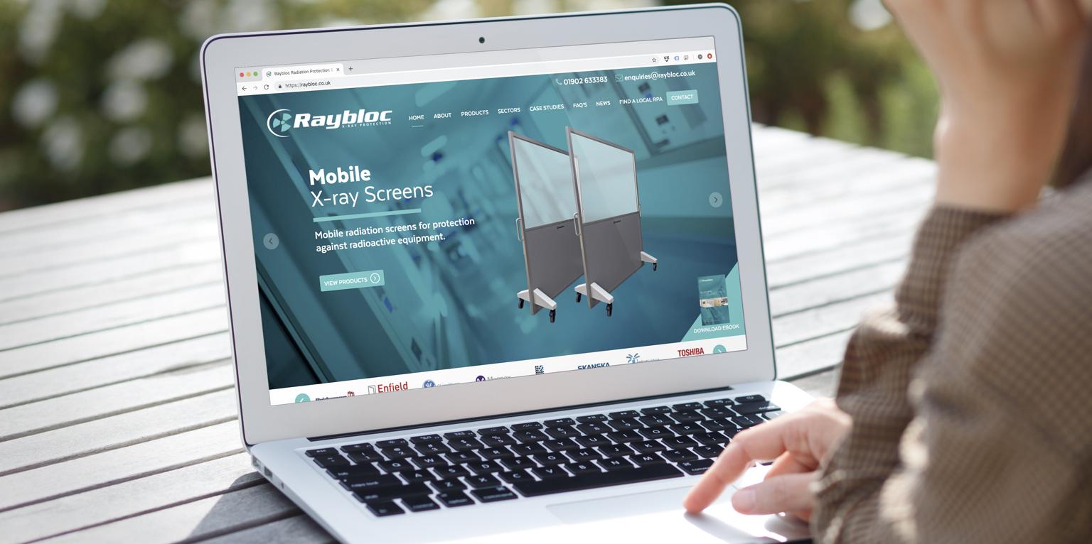 Raybloc Case Study - eighty3creative