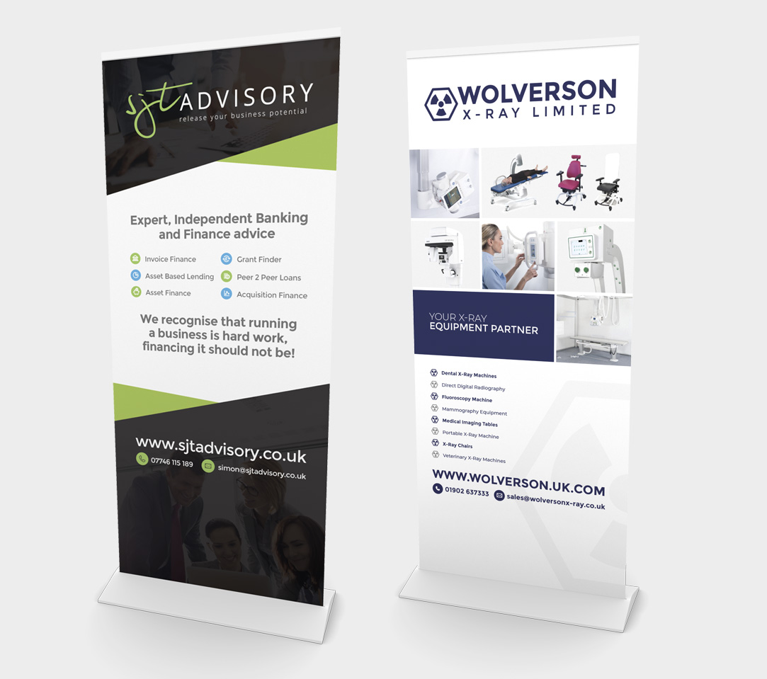 Pop Up Banners - eighty3creative