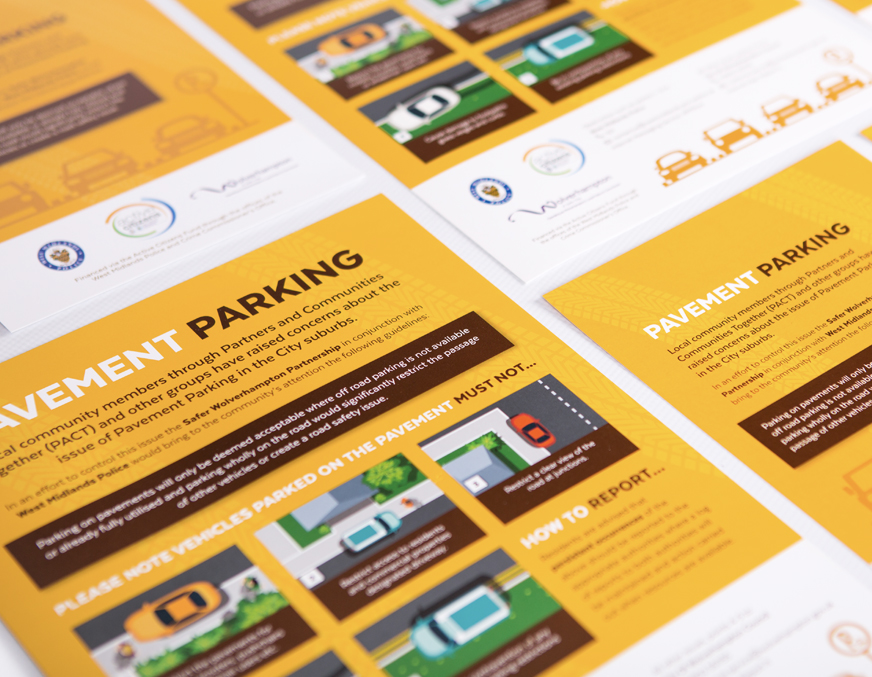 leaflet design & print - eighty3creative