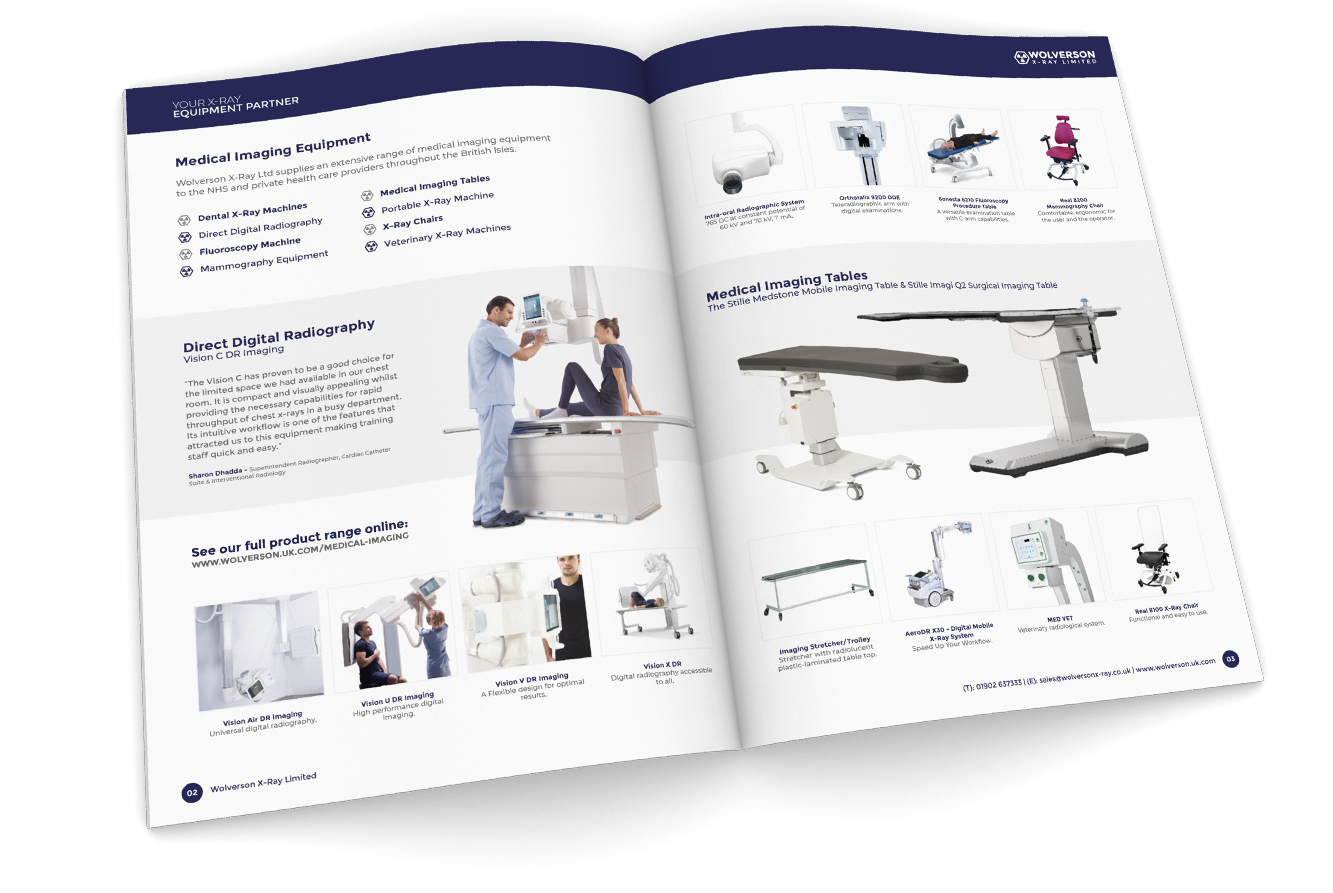 Website Design & Development - Wolverson X-Ray